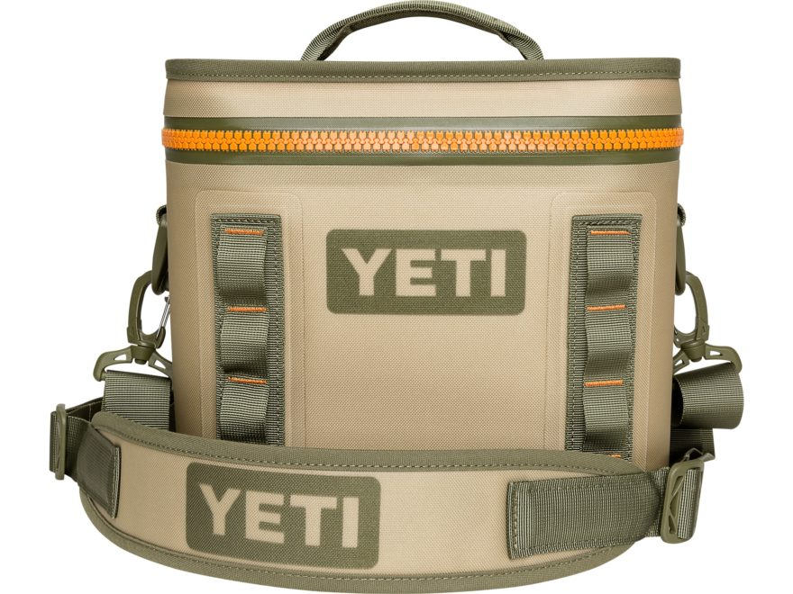 YETI Coolers Flip 12 Soft-Sided Cooler with Top Handle Dryhide Shell Field Tan