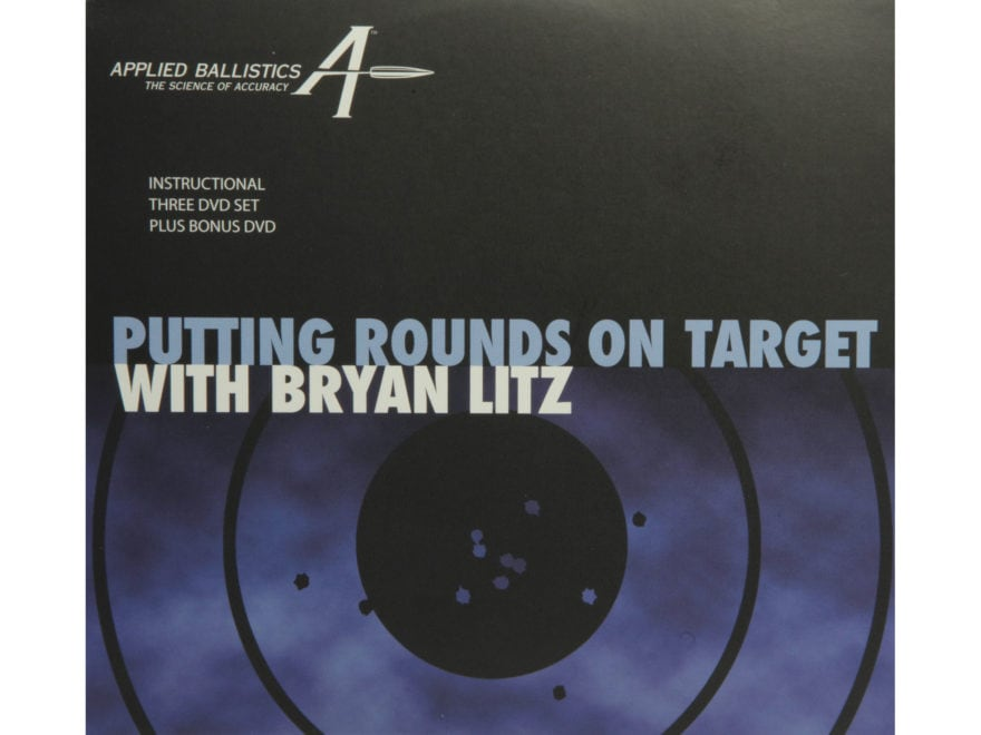"Applied Ballistics ""Putting Rounds on Target""  with Bryan Litz DVD 3 Disc set with Bonu..."