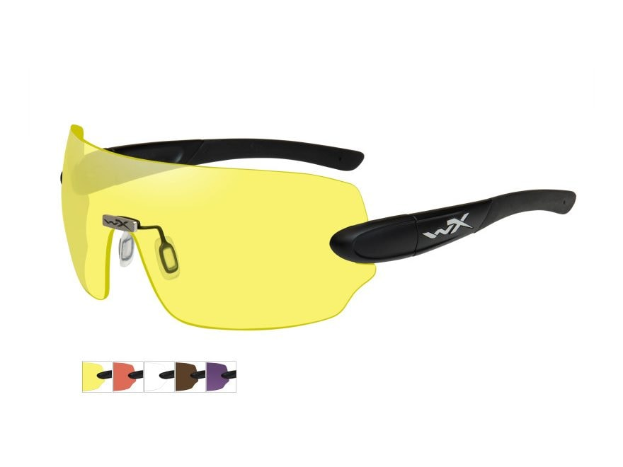 Wiley X WX Detection Changeable Series Shooting Glasses Kit