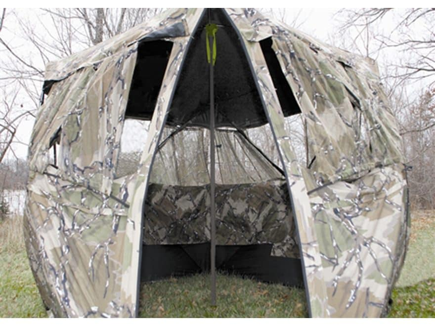 HME Ground Blind Support Post Steel Brown
