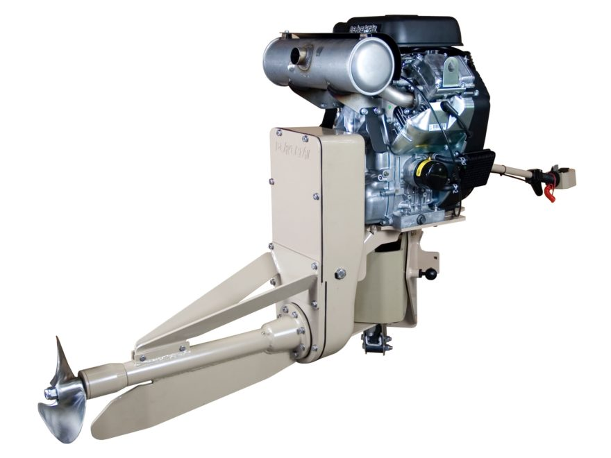 Beavertail 37 HP Vanguard EFI Surface Drive Gas Powered Motor Short
