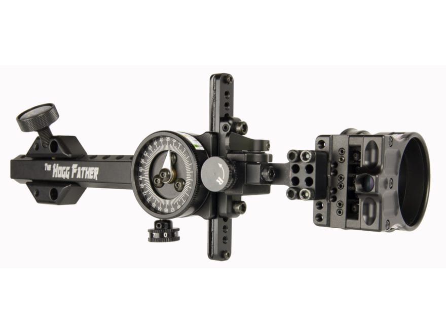 """Spot-Hogg Wrapped Hogg Father 1-Pin Bow Sight .019"""" Pin Diameter Small Guard Right Hand..."""
