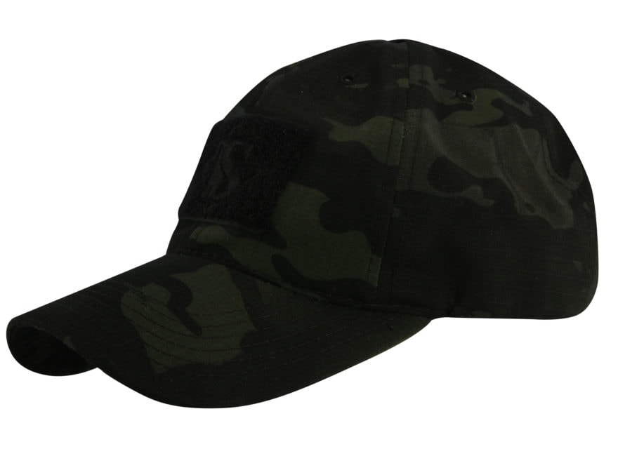 Tru-Spec Contractor's Cap Nylon and Cotton Ripstop Multicam Black