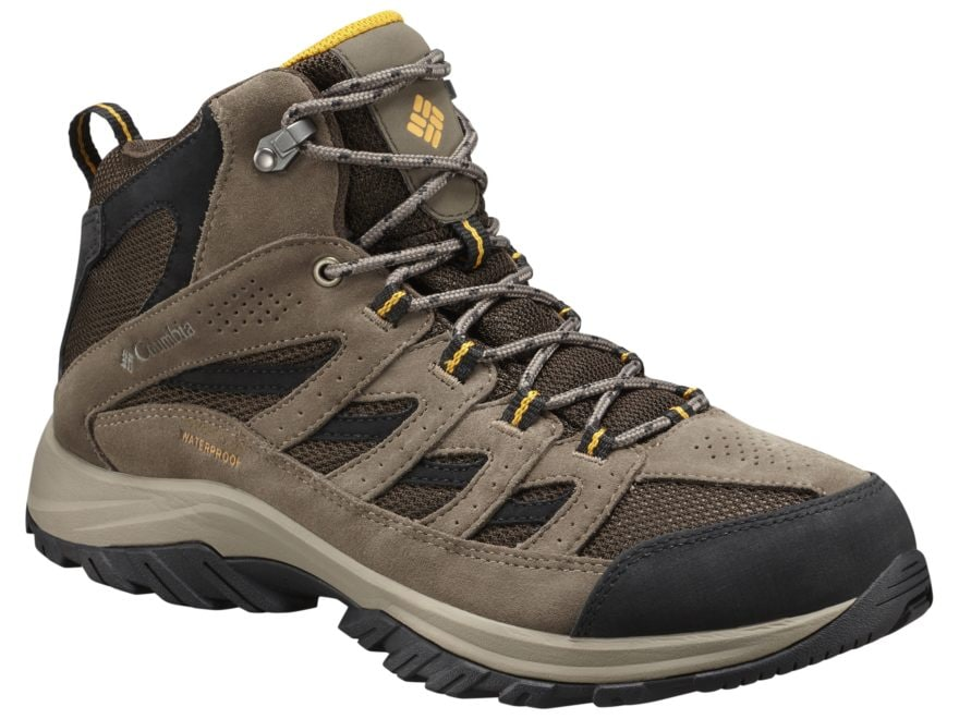 32d6d693571 Columbia Crestwood Mid Hiking Boots Leather/Nylon Men's