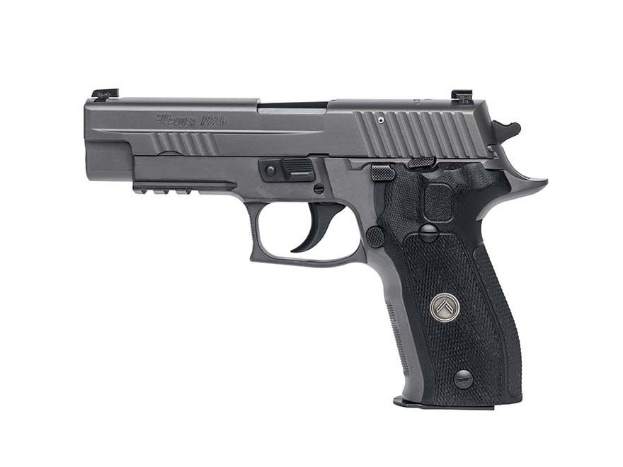 "Sig Sauer P226 Legion SAO Pistol 9mm Luger 4.4"" Barrel X-Ray 3 Night Sights Gray G10"