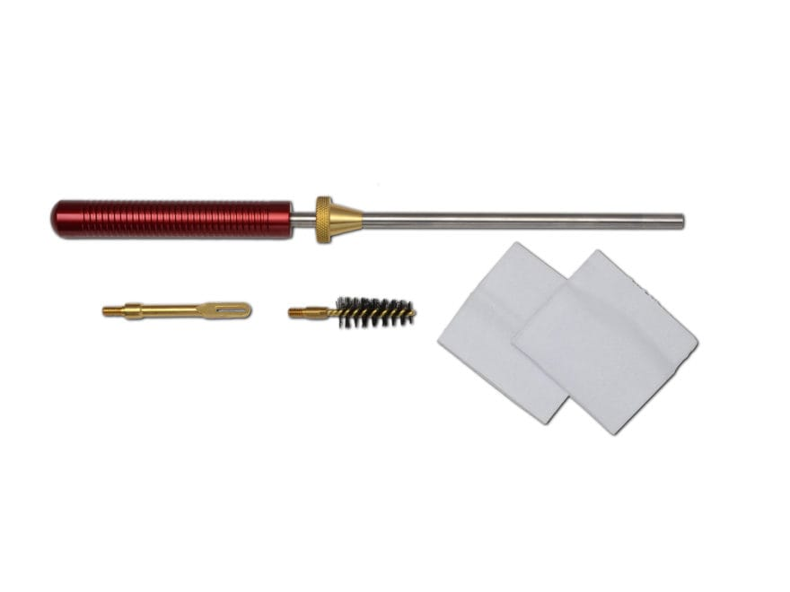 """Pro-Shot Competition Pistol Cleaning Kit 357 to 45 Caliber 8"""" Stainless 8 x 32 Thread"""