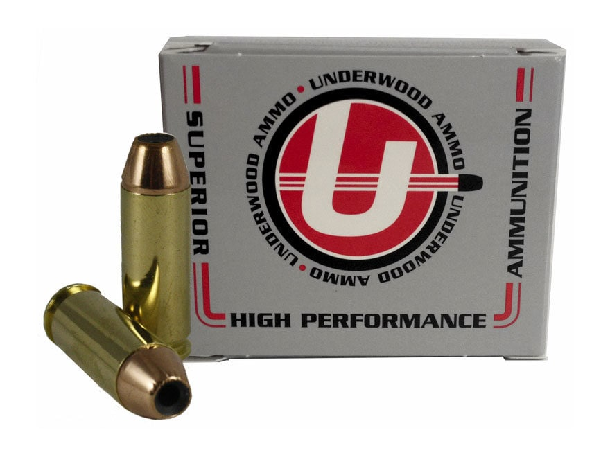 Underwood Ammunition 45 Winchester Magnum 230 Grain Jacketed Hollow Point Box of 20