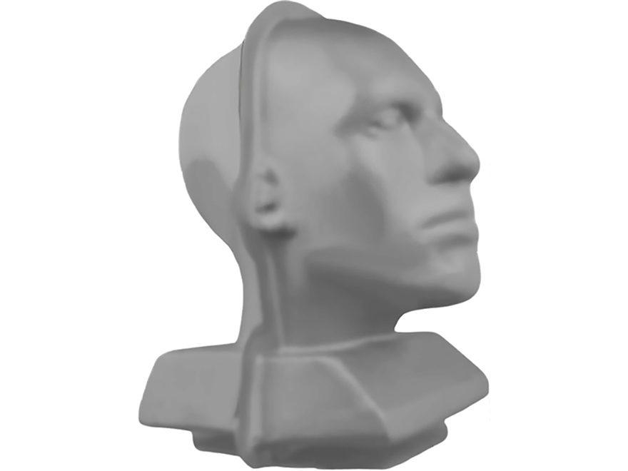Clear Ballistics Head Mold