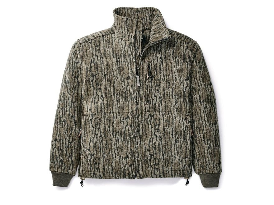 Filson Men's Camo Mackinaw Wool Field Jacket