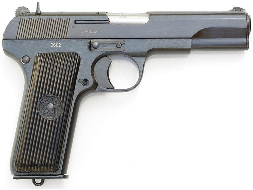 "Military Surplus Yugoslavian M57 Tokarev Pistol 7.62x25mm 4.6"" Barrel 9-Round Good to V..."