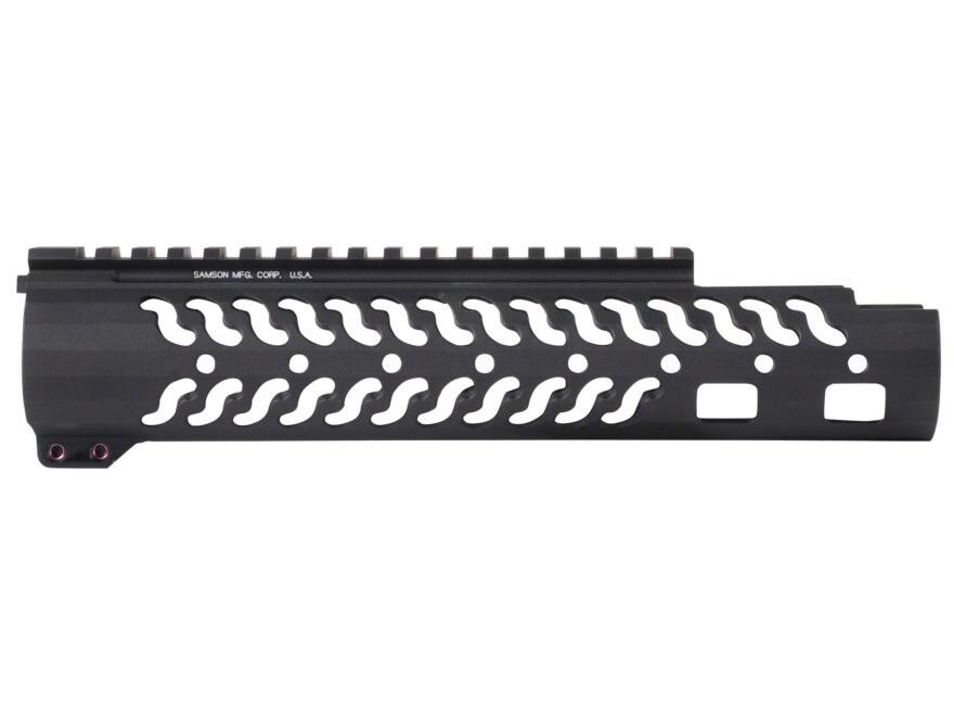 Samson Evolution Series EX Extended Customizable Free Float Handguard AR-15 Aluminum Matte