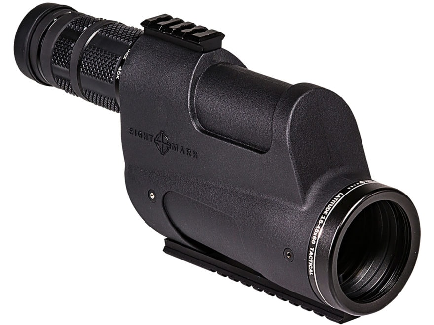 Sightmark Latitude Spotting Scope 15-45x 60mm Rubber Armored Matte