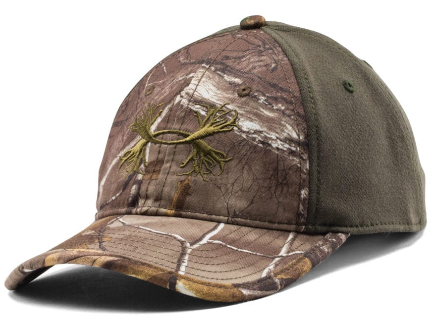 Under Armour Camo Antler 2-Tone Cap Polyester Realtree Xtra and Rifle  Green. Alternate Image  Alternate Image 9d1804b94bb