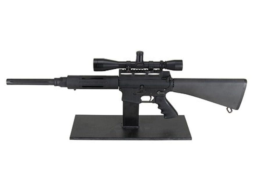 Plastix Plus AR-15 Display Stand Plastic Black