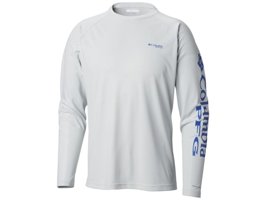 Columbia Men's PFG Terminal Deflector Long Sleeve Shirt Polyester/Elastane