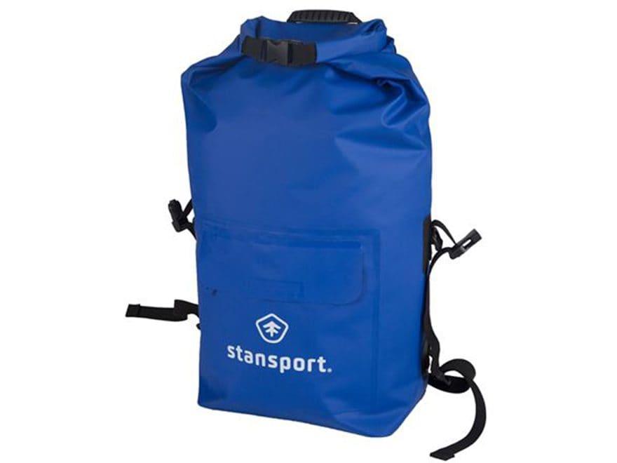 Stansport Waterproof Dry Gear Backpack 30 Liter Blue
