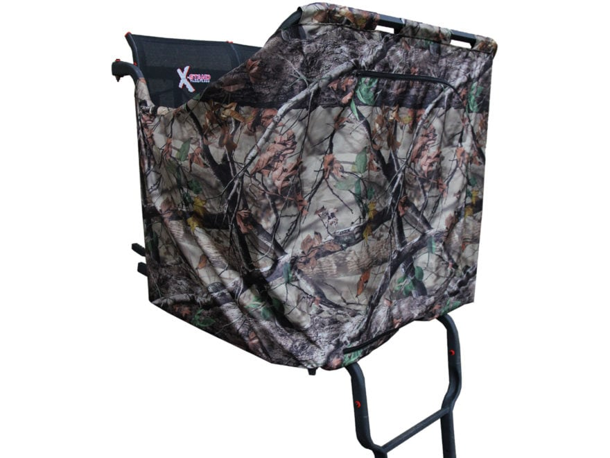 X-Stand Double Ladder Treestand Blind Kit