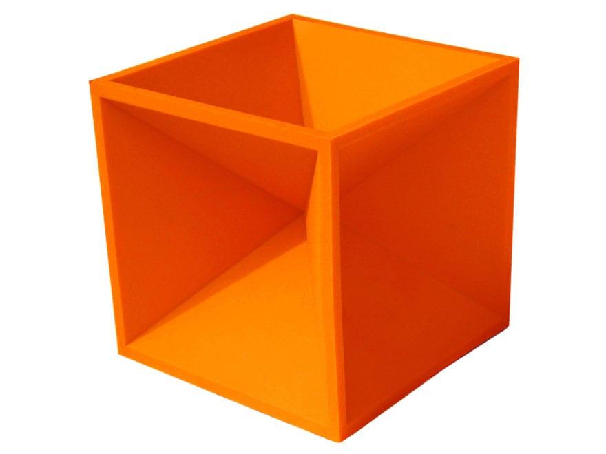 "Do-All Impact Seal Ground Bouncing Hot Box 4"" Reactive Target Self Healing Polymer Orange"