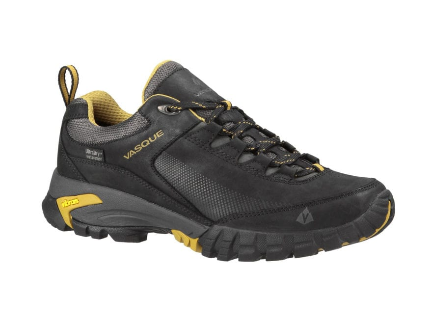 """Vasque Talus Trek UltraDry 4"""" Waterproof Hiking Shoes Synthetic and Leather Black and D..."""