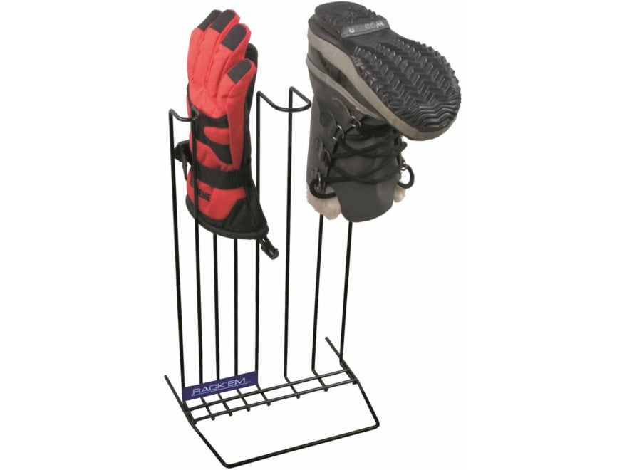 Rack'Em Racks Economy Boots & Glove Dryer Rack Steel Black