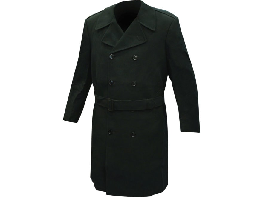 Military Surplus All-Weather Overcoat Double Breasted