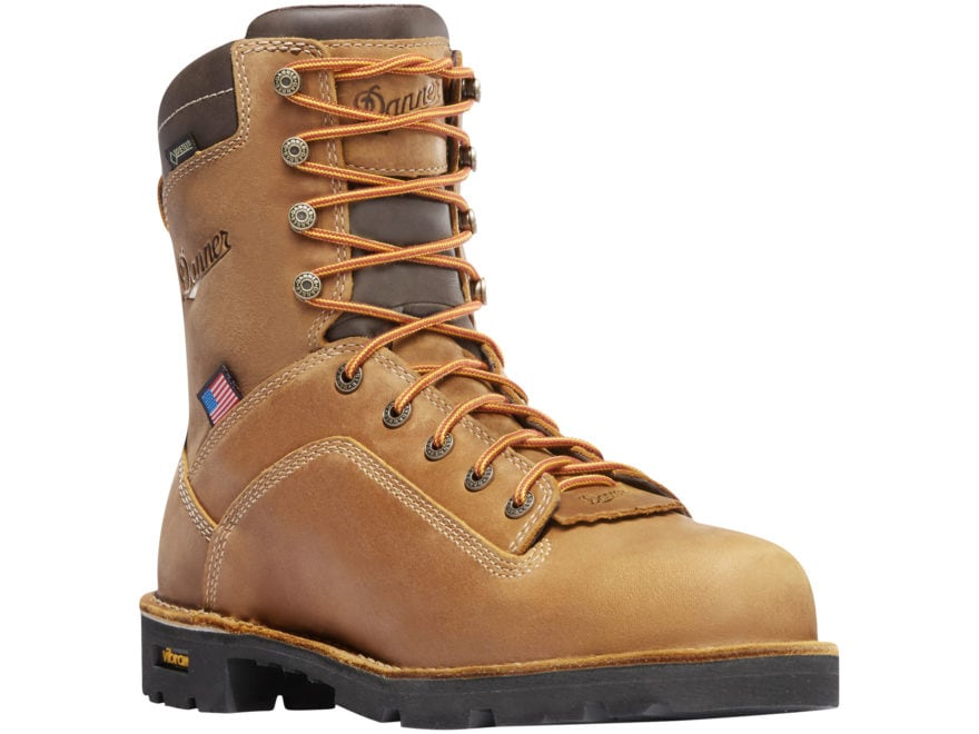 """Danner Quarry USA 8"""" Waterproof GORE-TEX 400 Gram Thinsulate Insulated Work Boots Leath..."""