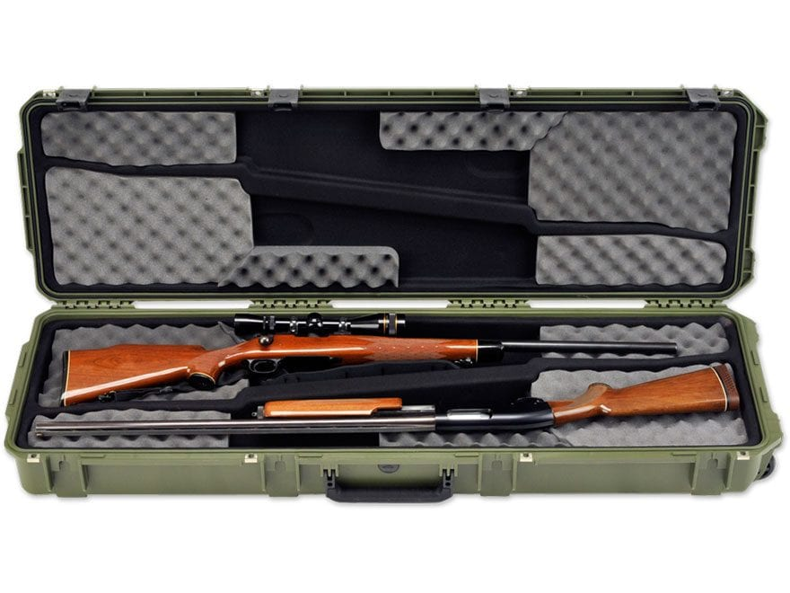"""SKB iSeries 5014 Double Scoped Rifle Case 49"""" Polymer"""