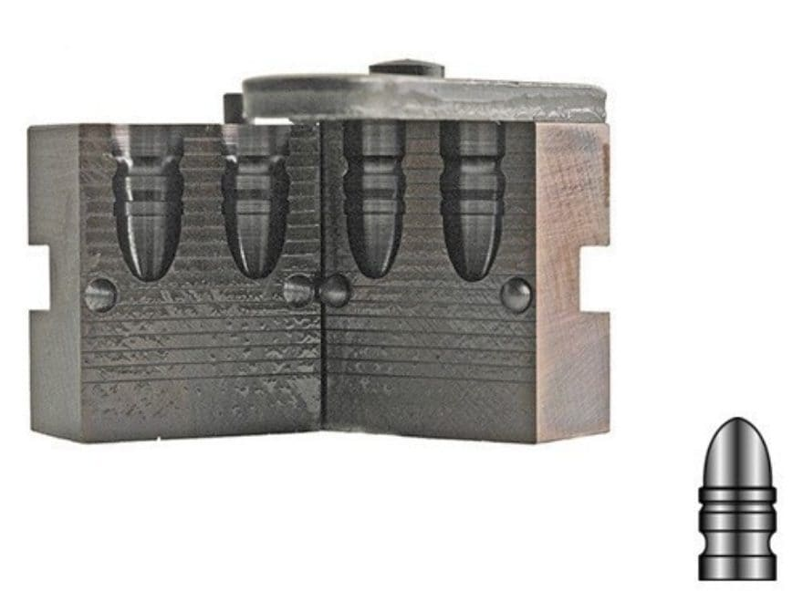 Lyman Bullet Mold #358311 38 Special, 357 Magnum (358 Diameter) 160 Grain Round Nose