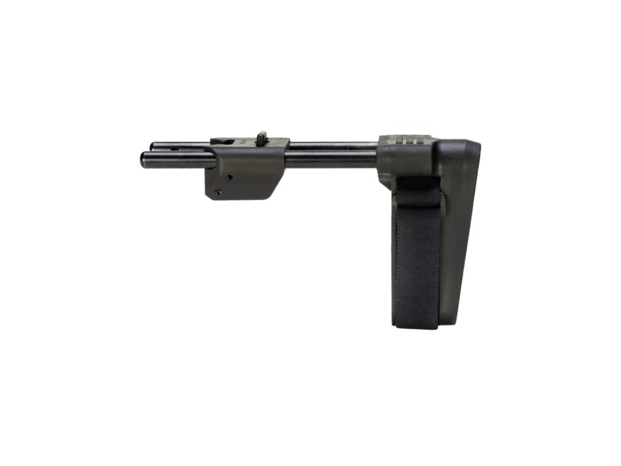 SB Tactical MPX Pistol Stabilizing Brace 3-Position Collapsible Sig MPX Black