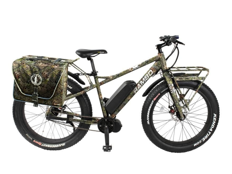 Rambo Bikes 750W NWTF Edition Electric Bike Mossy Oak Obsession