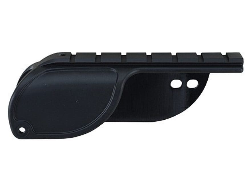 Weaver No Gunsmith Saddle Mount for Mossberg 500 Matte