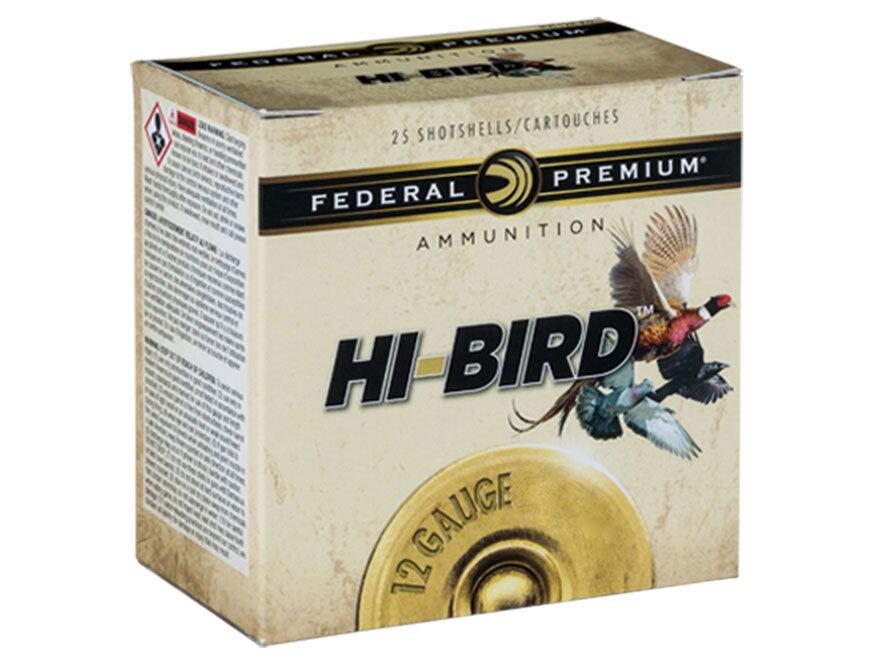 "Federal Premium Hi-Bird Dove, Pigeon, and Upland Ammunition 12 Gauge 2-3/4"""