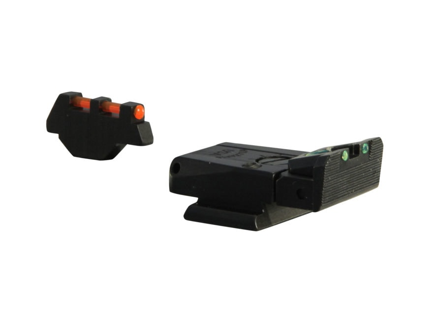 Williams Fire Sight Set Ruger P90, P91, P94, P95, P97 Fiber Optic Red Front, Green Rear