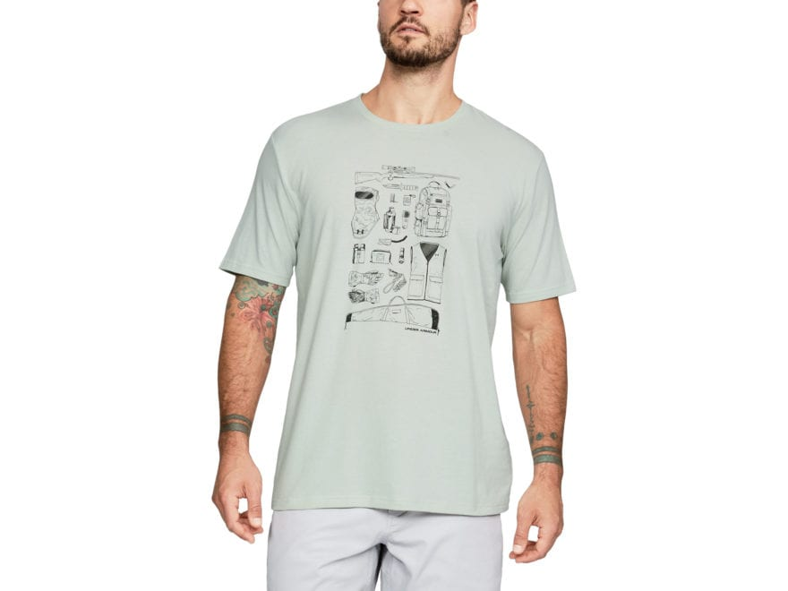 Under Armour Men's UA Tools of the Trade Rifle T-Shirt Short Sleeve Charged Cotton