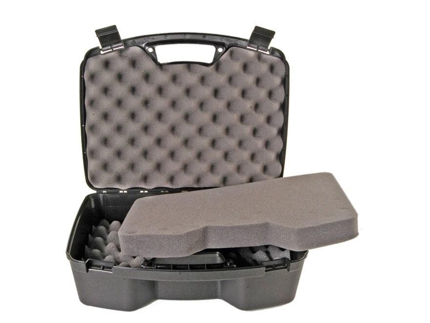 """MTM Quad Pistol Case 15.5"""" Black"""