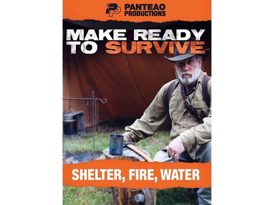 """Panteao """"Make Ready to Survive: Shelter, Fire, Water"""" DVD"""