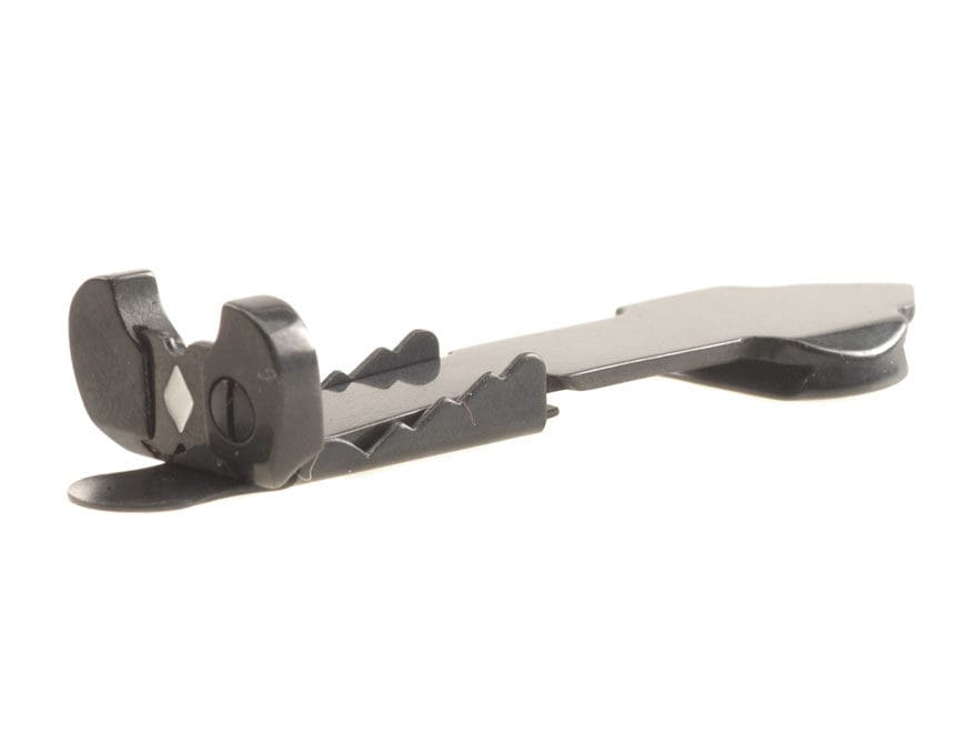 """Marble's Sporting Rear Sight Carbine-Style 1-7/8"""" Short Blade Semi-Buckhorn with Double..."""