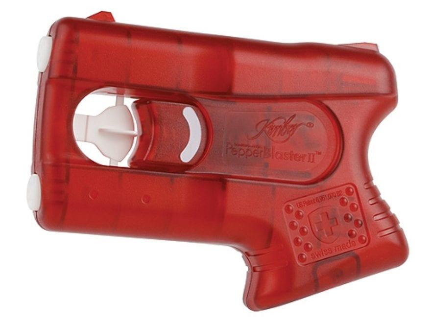 Kimber Guardian Angel Pepper Blaster II Pepper Spray Gel 10% OC Red