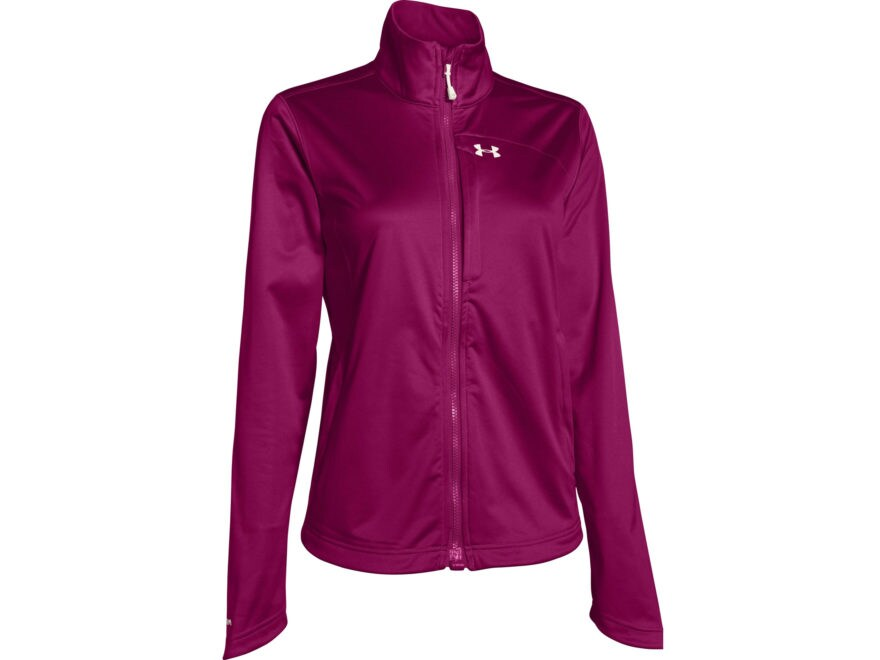 Under Armour Women's Flyweight Softershell Jacket Polyester Aubergine 12-14