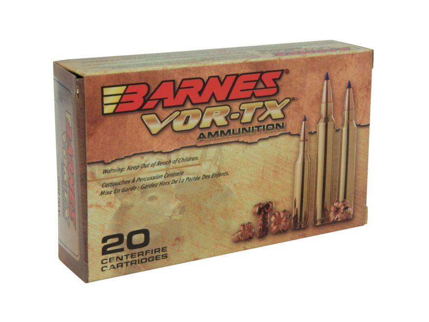 9bf98bfb9fc Barnes VOR-TX Ammunition 6.5 Creedmoor 120 Grain TTSX Polymer Tipped Boat  Tail Lead-