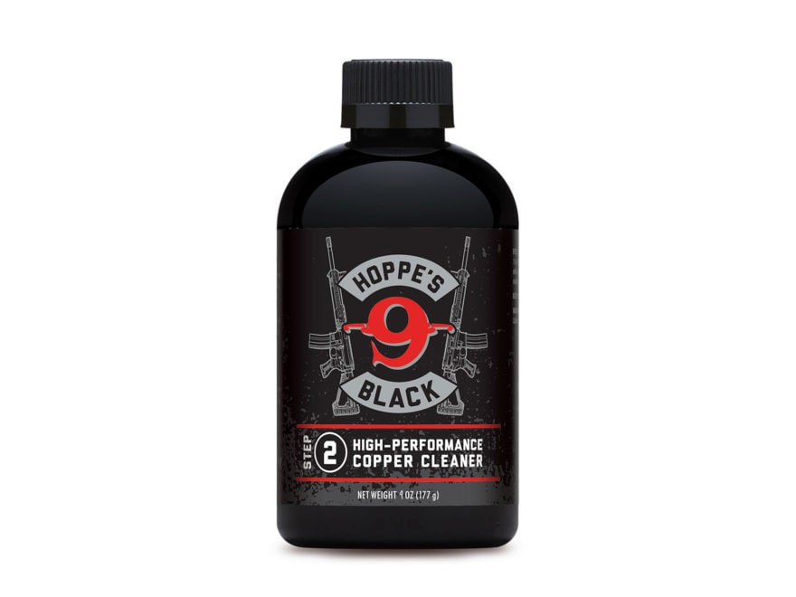 Hoppe's Black Copper Bore Cleaning Solvent 4 oz Liquid