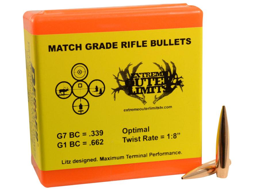 Berger Elite Hunter Hunting Bullets 270 Caliber (277 Diameter) 170 Grain Hybrid Hollow ...