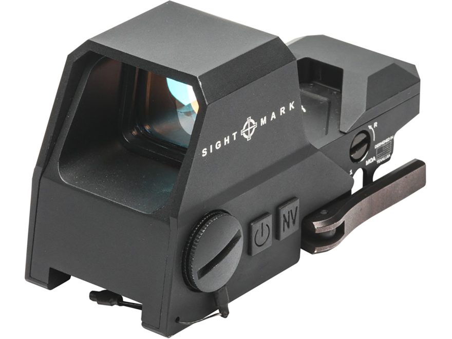 Sightmark Ultra Shot A-Spec Reflex Sight 1x Selectable Reticle with Quick Detachable We...