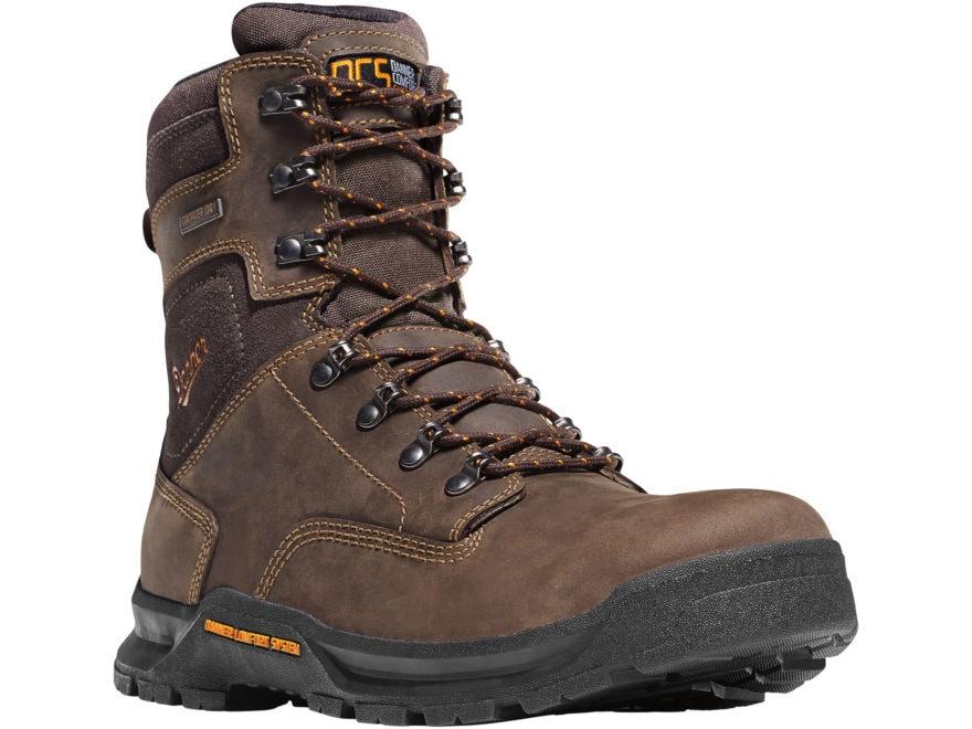 "Danner Crafter 8"" Waterproof Work Boots Leather Men's"