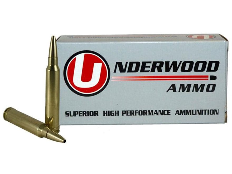 Underwood Ammunition 300 Winchester Magnum 165 Grain Lehigh Controlled Chaos Lead-Free ...