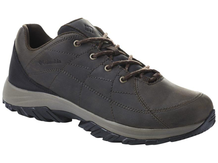 6f4a99e6da9 Columbia Crestwood Venture Hiking Shoes Full-Grain Leather Men's