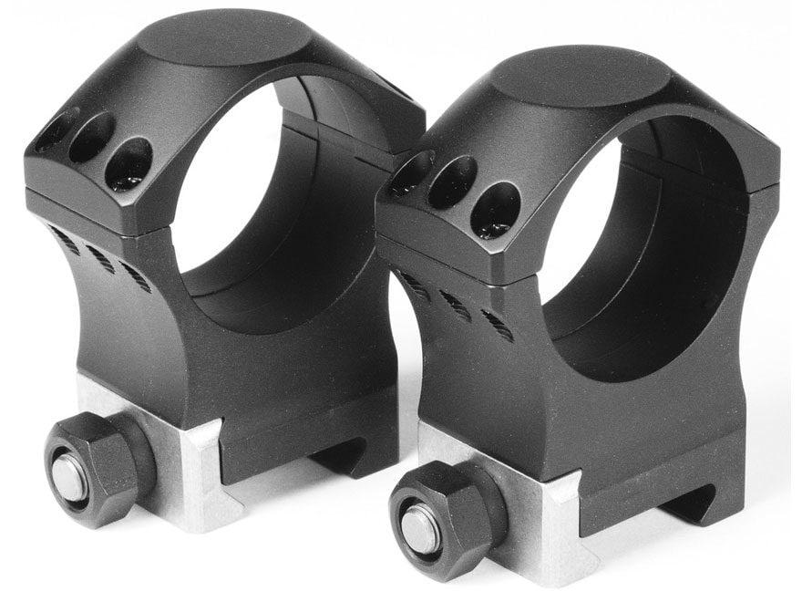 Nightforce 30mm Ultralite Picatinny-Style Rings 6 Screw Matte