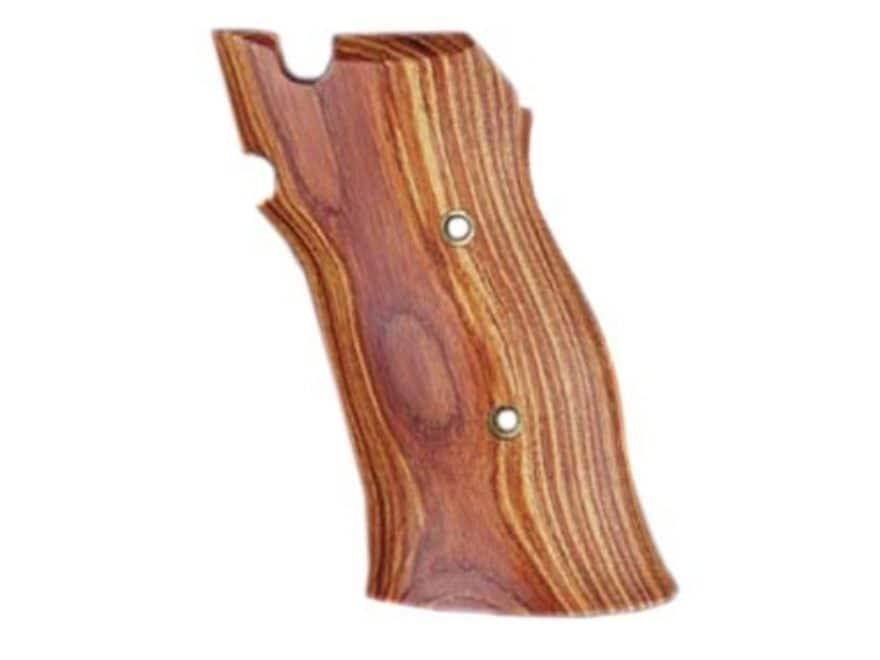 Hogue Fancy Hardwood Grips S&W 41 Tulipwood