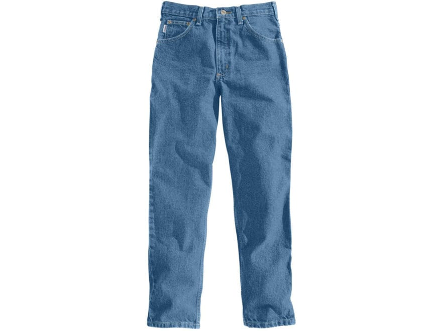 Carhartt Men's Relaxed Fit Tapered Leg Jeans Cotton