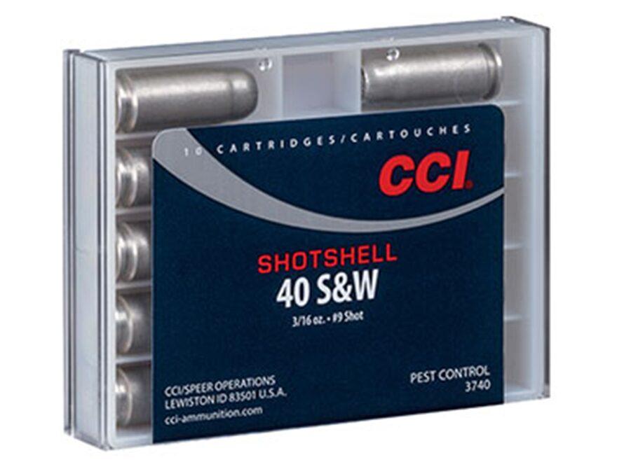 CCI Shotshell Ammunition 40 S&W 88 Grains #9 Shot